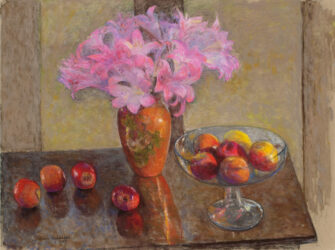 Amaryllis and apples