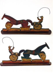 Harness racer #6 and #8