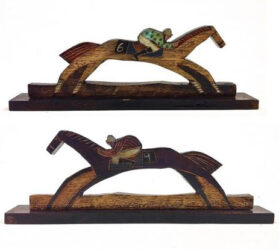 Racehorse #6 and #9