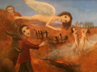 Dante in Purgatory