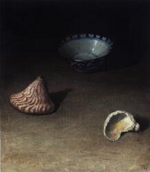 Three objects on a dark ground II