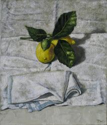 Still life, lemons