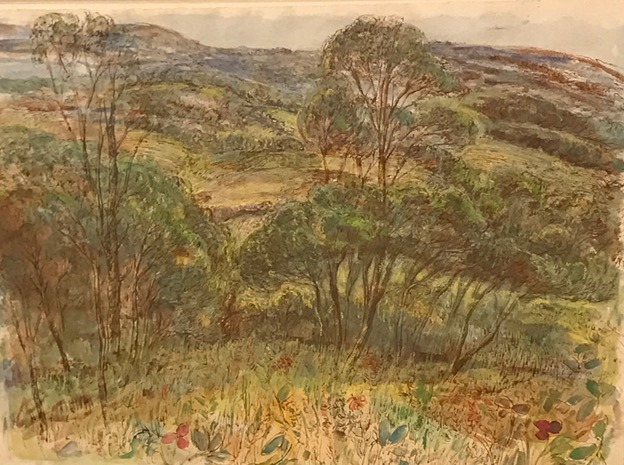 View over the hills, Kurrajong