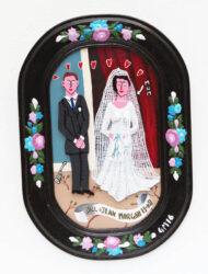 Mum and Dad's wedding