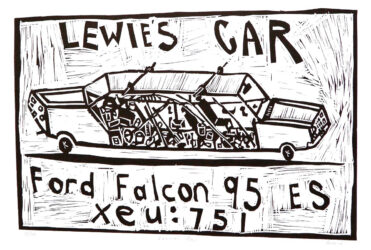 Lewie's car