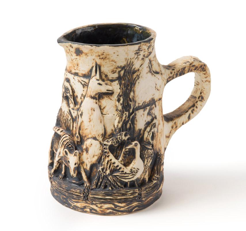 Ceramic jug after Colonial raft