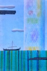 Saint Brendan and the crystal pillar
