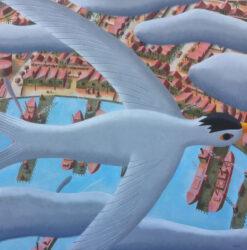 Arctic Tern over Williamstown Docks