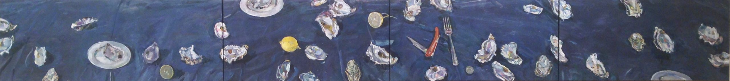 Study for, Oysters and lemons