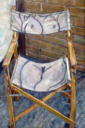 Chair with nude