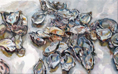 Still life with oyster shells II
