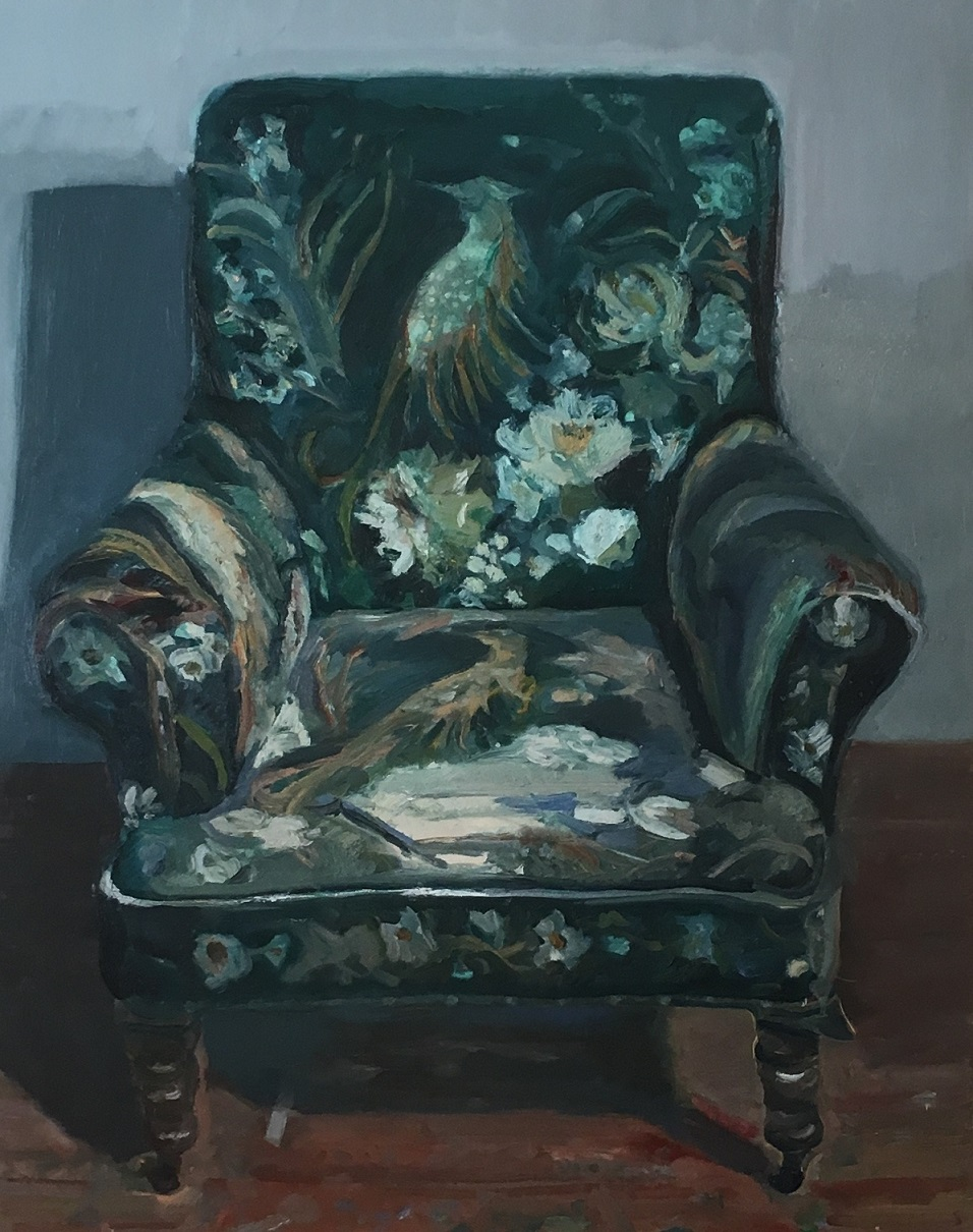 Worn and torn chair