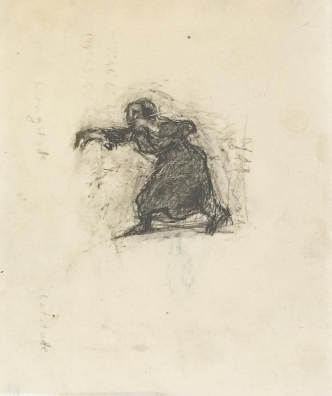 Greek woman casting spell