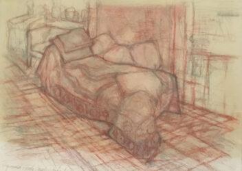 Sigmund Freud's couch, London