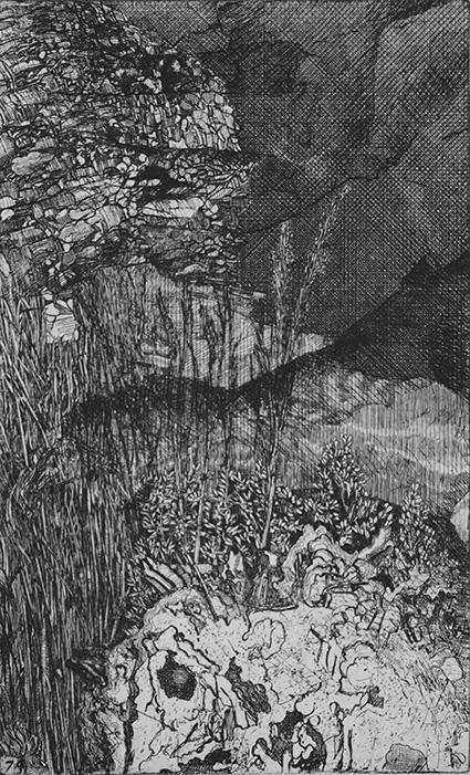 Elsewhere world fragment No. 74