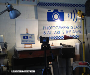 Photographing photography
