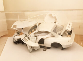 Maquette for, Carapace