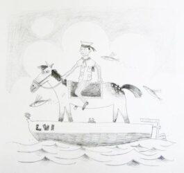 If I had a pony, I'd ride him on my boat