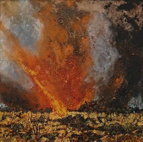 MANDY MARTIN – Firestorm, Mt Connor #2