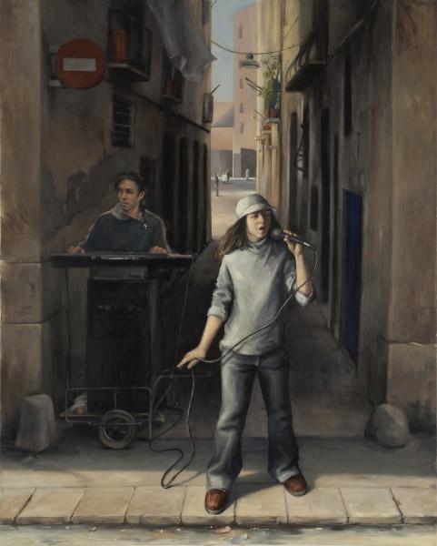 The street singer