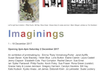 'Imaginings' – A print exchange folio and exhibition project curated by Rona Green