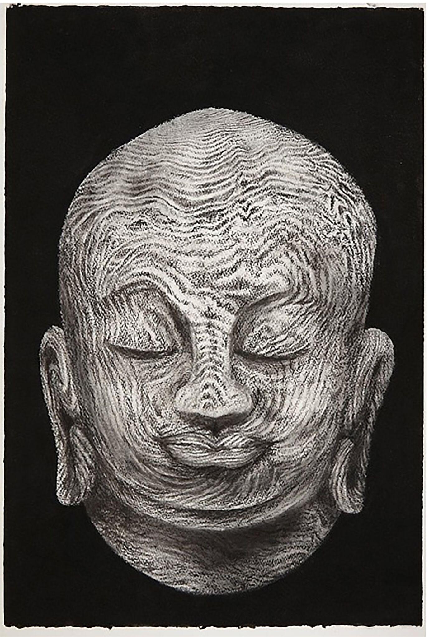 Buddha head #2