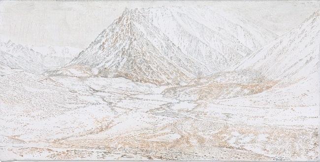 Foothills of Vajrapani (study)