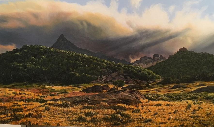 Afternoon, Mt Buffalo Plateau