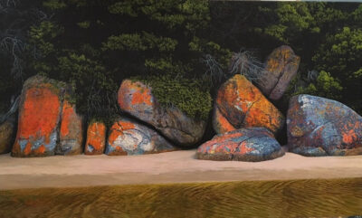 Evening Rocks, Tidal River