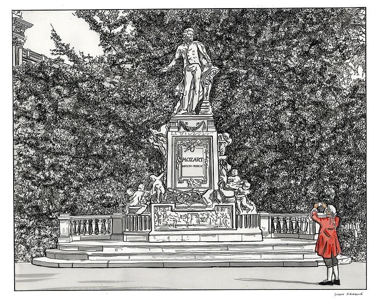 Mozart Statue – Vienna