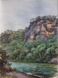 Cliff, Wisemans Ferry