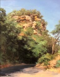 Rock wall, Settlers Road
