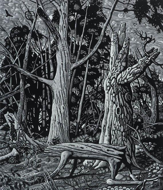 Wounded Wood II