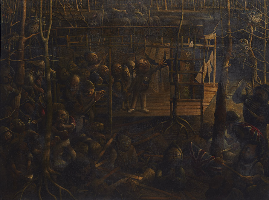 The massacre at Young before it was called Young 1861