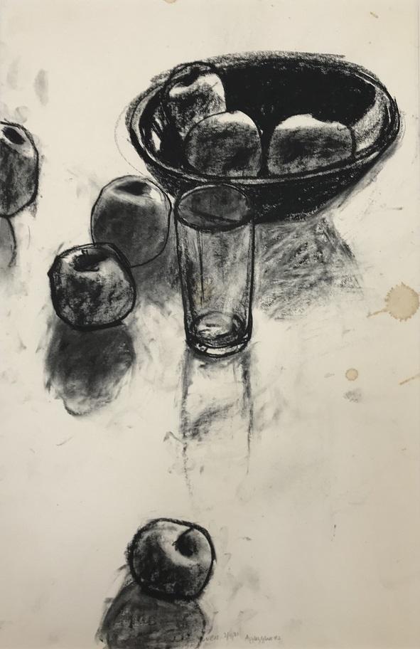 Apples – Glass #2 (2/4/81)