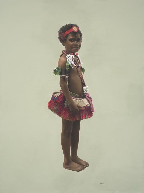 Trobriand Island Girl #3
