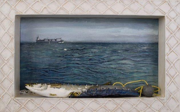 Pilchards seascape