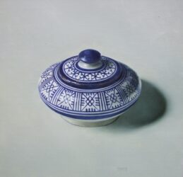 Fes bowl with lid
