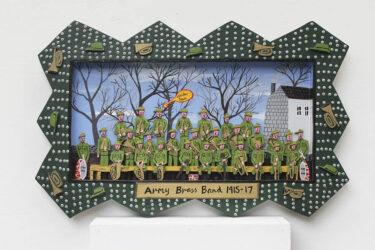 Army brass band 1915-17