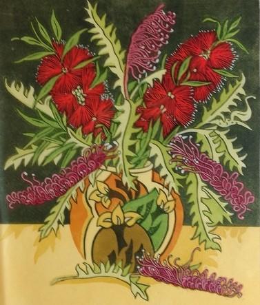 Bottlebrush & Grevilleas