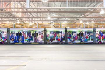 2018 Melbourne Art Trams