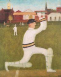 Straight drive, Richmond Union Cricket Club