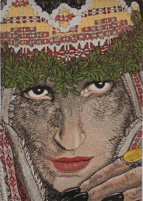 Olga was a popular drawcard at weddings