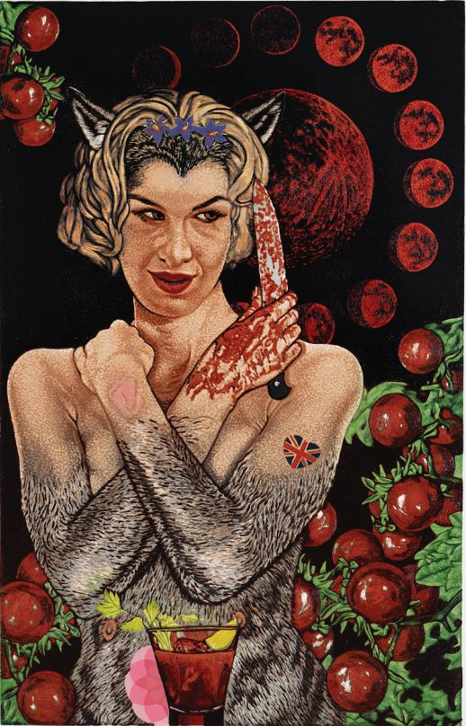 Each full moon, Sandie craves a Bloody Mary