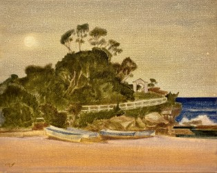 Full moon over Coogee
