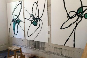 Camie Lyons installation – Tiffany & Co. Sydney