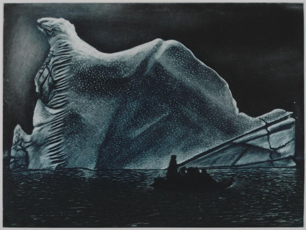 Melchior Island iceberg