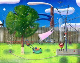 Backyard idyll