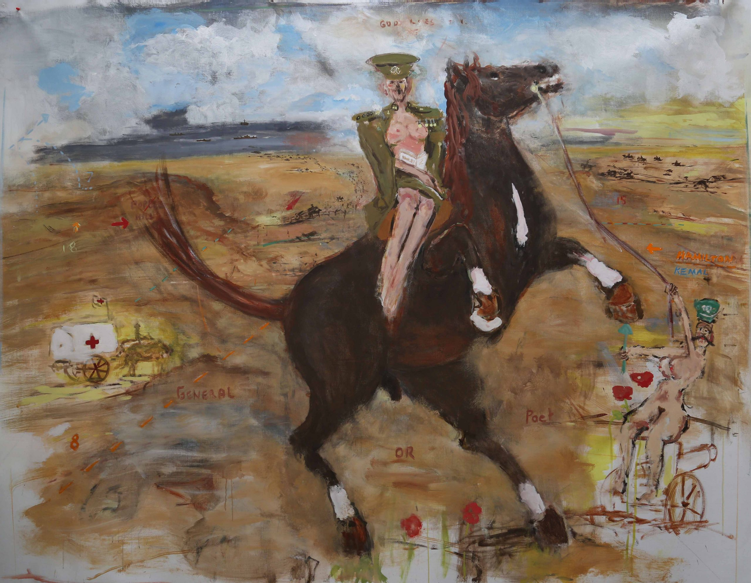 General or poet – Hamilton at Gallipoli