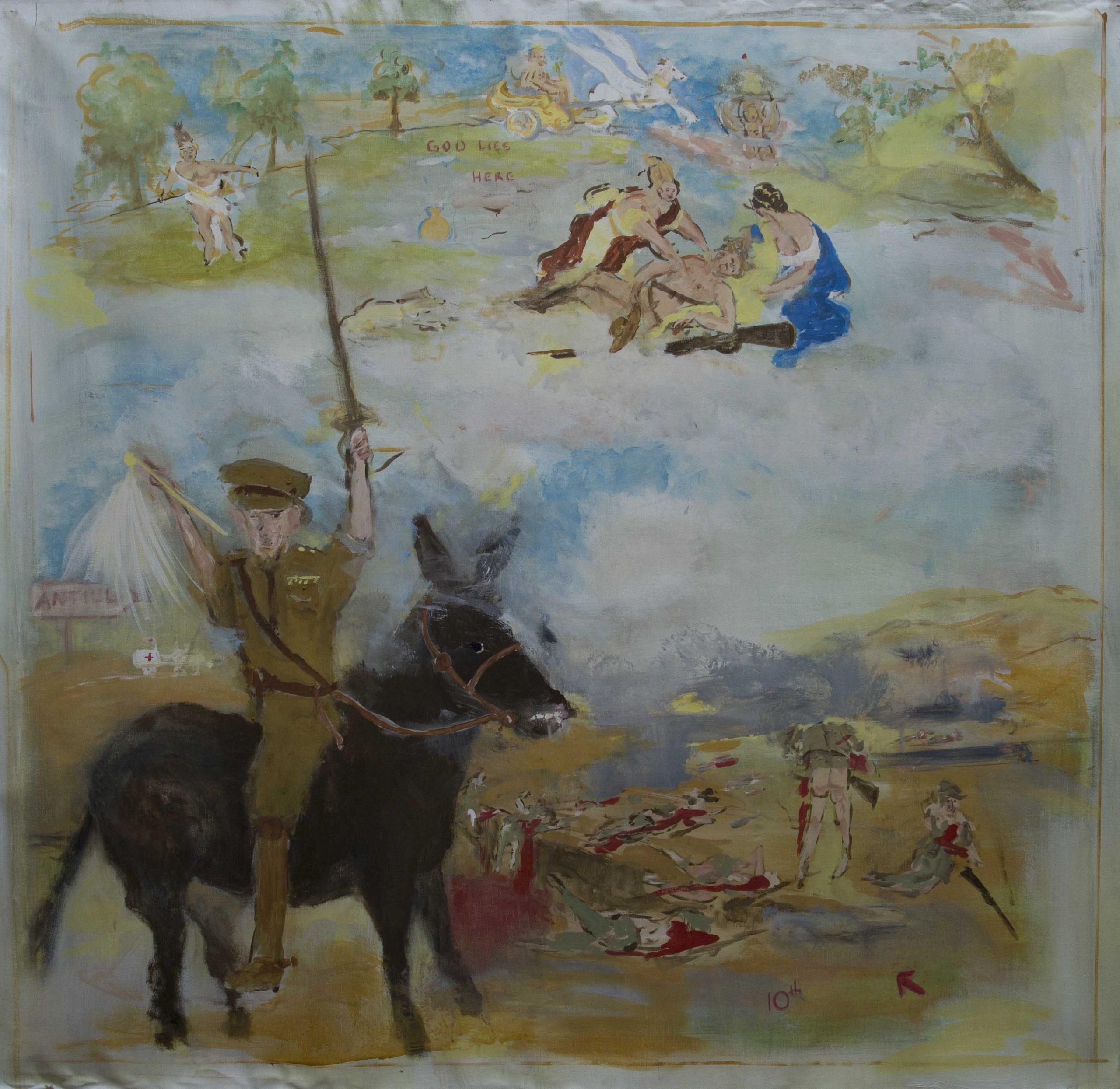 Major General John Macquarie Antill CB. CMG in command of the 10th Light Horse WA Division – Gallipoli 1915